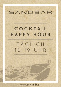 290315_Sandbar_Plakat Happy Hour